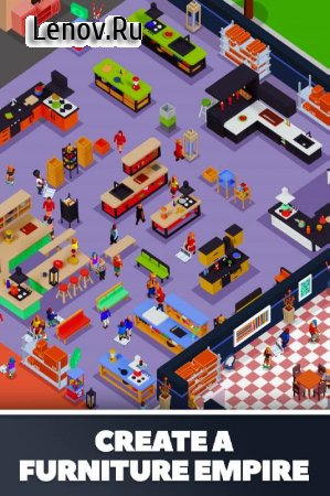 Idle Furniture Store Tycoon - My Deco Shop v 1.0.27 Mod (Free Shopping)