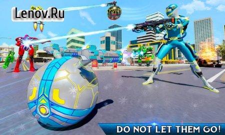 Snow Ball Robot Transform Hero Robot Crime City v 2.2 Mod (A lot of money)