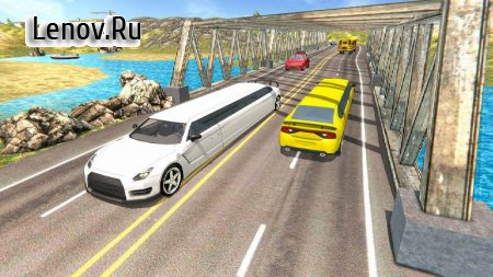 Limousine Taxi Driving Game v 1.13 Mod (A lot of money)