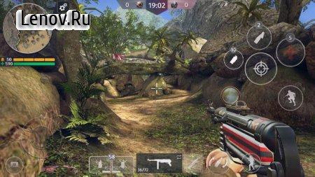 World War 2 - Battle Combat (FPS Games) v 2.63 Mod (Enemies on the radar)