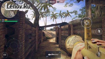 World War 2 - Battle Combat (FPS Games) v 2.92 Mod (Enemies on the radar)