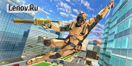 Super Hero Rope Crime City v 1.05 Mod (Lots of gold coins)