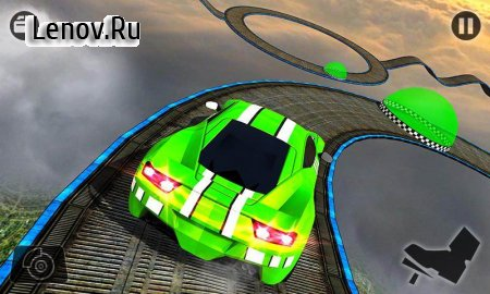Impossible Car Stunt Games: Extreme Racing Tracks v 3.0 Mod (gold coins)