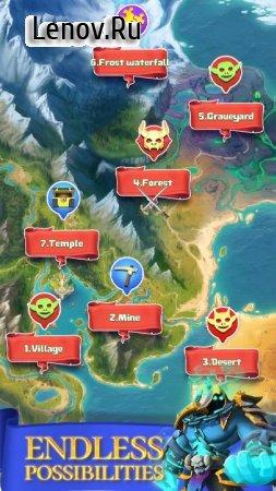 Match & Slash: Fantasy RPG Puzzle v 1.0.2 Mod (No ads)