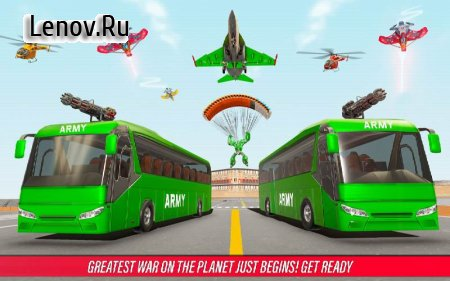 Army Bus Robot Car Game – Transforming robot games v 4.5 (Mod Money)