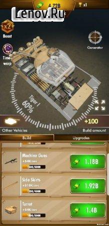 Idle Panzer v 1.0.1.032 Mod (Free Shopping)