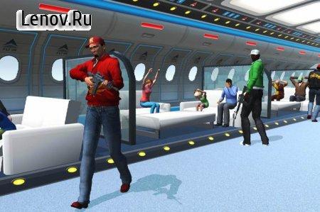 Passenger Airplane Games : Plane Hijack v 1.6 Mod (A lot of banknotes)