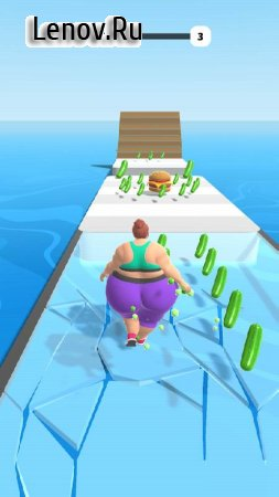 Fat 2 Fit! v 1.7.0 Mod (Lots of gold coins)