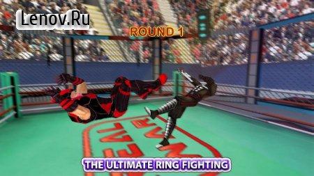 Real Robot Ninja Ring Fight: Fighting Games 2020 v 0.6 (Mod Money)