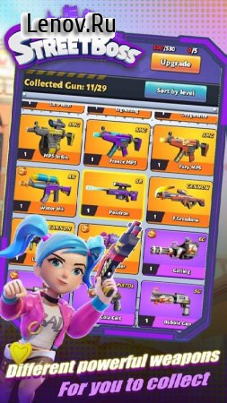 Street Boss : Shootout v 0.0.16 Mod (Endless ammo/Free Shopping)
