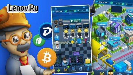 Crypto Idle Miner - Bitcoin Tycoon v 1.7.5 (Mod Money)