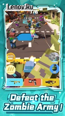 Idle Zombie Master: Gun Shooting Game v 1.0.0 Mod (Endless ammo)