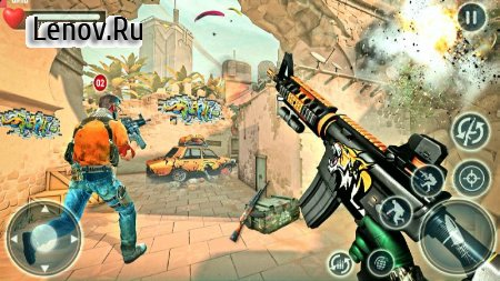 Bravo Shooter: Gun Fire Strike v 1.49 Mod (A lot of money)