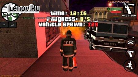 Grand Theft Auto: SAMP от Flin RP v 4.0.2b Мод (полная версия)