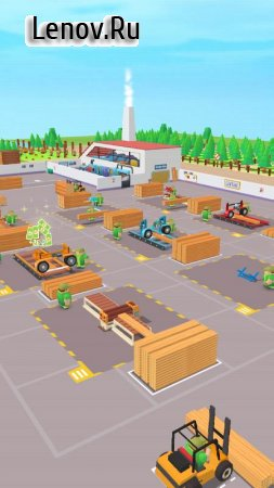 Idle Forest Lumber Inc: Timber Factory Tycoon v 1.2.0 (Mod Money)