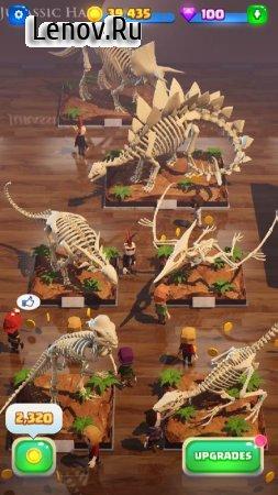 Мир динозавров: Мой музей v 0.88 (Mod Money)