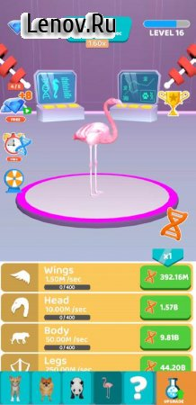 Idle Animal Evolution v 1.02 Mod (Lots of diamonds/no ads)