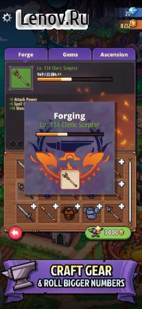 Knights of Pen and Paper 3 v 0.10.14 (Mod Money)