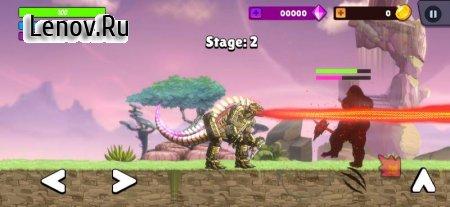 Kaiju Brawl : Godzilla vs Kong v 31 (Mod Money/No ads)