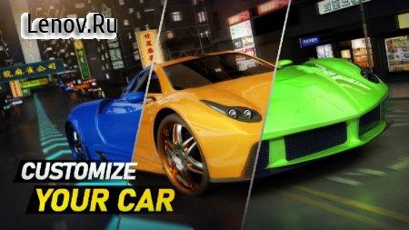 Crazy Speed Car v 1.09.5052 Mod (Unlocked/a lot of nitrogen/gold coins)