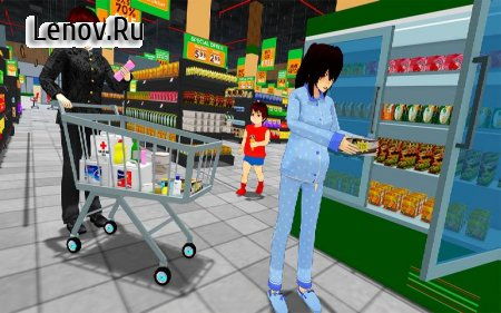 Anime Family Simulator: Pregnant Mother Games 2021 v 1.1.2 Mod (Lots of gold coins)