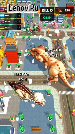 Rampage : Giant Monsters v 0.1.25 Mod (Unlocked/Free Shopping)