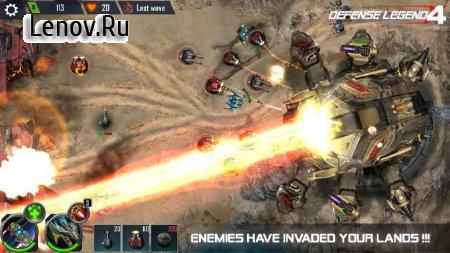 Defense Legend 4: Sci-Fi Tower defense v 1.0.33 (Mod Money)
