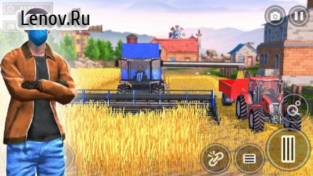 New Tractor Farming 2021: Free Farming Games Sim v 1.14 Mod (Unlock the relevant card)