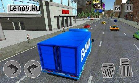 Security Van Driver USA Bank Cash Transport Sim v 1.0.2 (Mod Money/Unlocked)