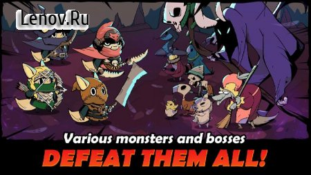 Idle Hero Battle v 1.0.9 Mod (MENU MOD/GOD MODE/X10 SPEED ATK/ONE HIT KILL)