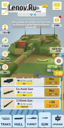 Idle Tanks 3D v 0.8 (Mod Money)