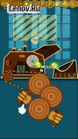 Idle Coin Factory: Incredible Steampunk Machines v 2.1.3 Mod (Unlocked/No ads)