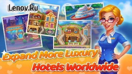 Hotelscapes v 1.0.14 Mod (Free Shopping)