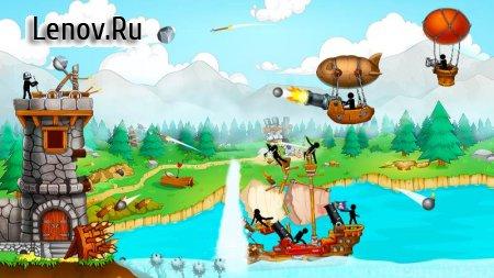 The Catapult: Castle Clash with Stickman Pirates v 1.3.5 (Mod Money)