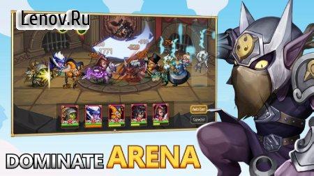 Heroes Legend - Idle Battle War v 2.4.3.2 Mod (MENU MOD/DMG/DEFENSE MULTIPLE)