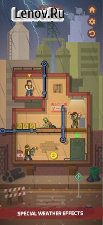 Zombie Escape: Pull the pins & save your friends! v 1.1.2b Mod (Money/No ads)