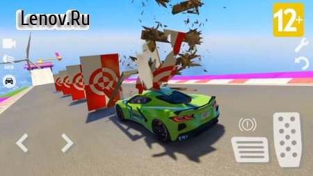 Spider Superhero Car Games: Car Driving Simulator v 1.35 Mod (Do not watch ads to get rewards)