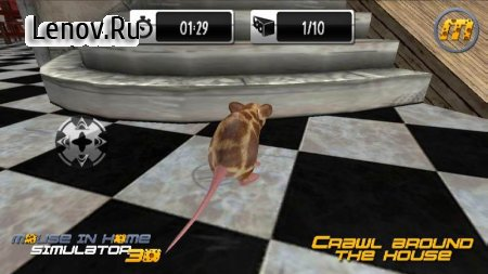 Mouse in Home Simulator 3D v 2.9 Mod (A lot of gold coins/Rewards/No ads)