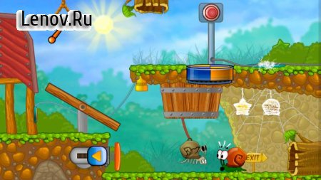 Snail Bob 1: Arcade Adventure In The Puzzle World v 0.8.13 Mod (You can get free stuff without seeing ads)