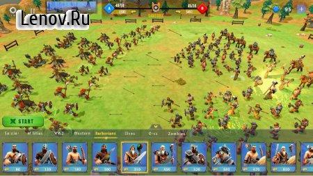 Epic War Simulator - WW2 Battle Strategy Games v 1.2 Mod (A lot of diamonds)
