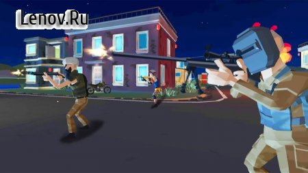 Grand Battle Island: Pixel Multiplayer Shooter 3D v 1.0.0 Mod (Lots of gold coins)